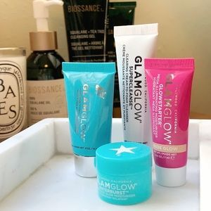 Glamglow Skincare Set: Mask, Cleanser, Moisturizer